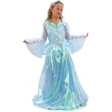 Princezna modrá deluxe 130/140 cm , 9 - 12 let